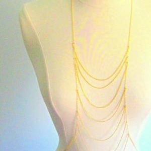 Havana Body Necklace, Gold or Silve..