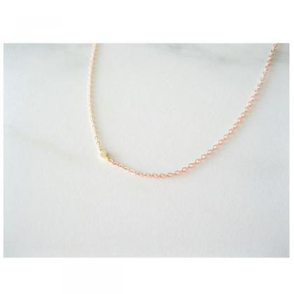 Everyday Solitaire Choker Necklace