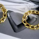 Gold Chain Rings, Women and Teens