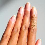 O-M-G Gold Knuckle Ring set