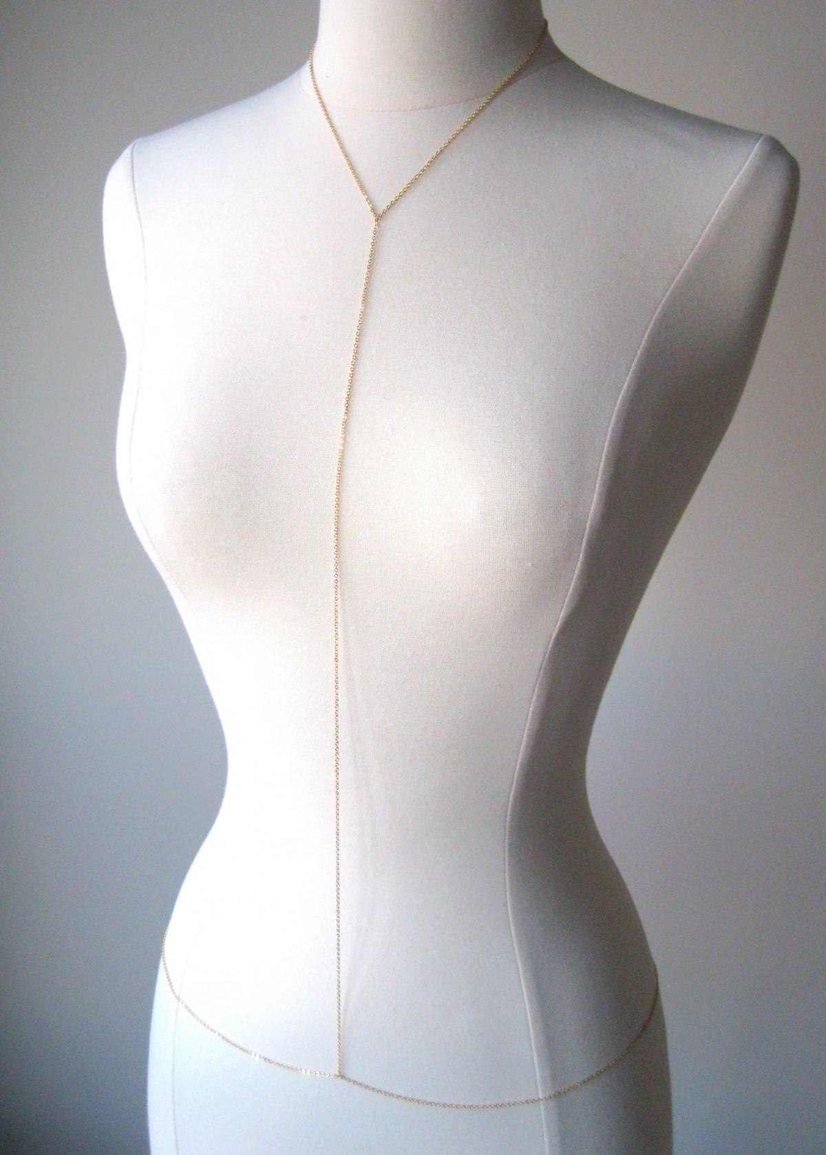 16k Gold Plated Body Chain