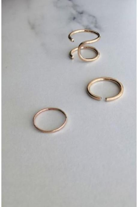 Everyday Open Cuff Ring