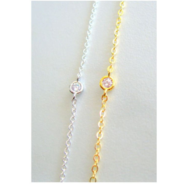 Solitaire Diamond Choker